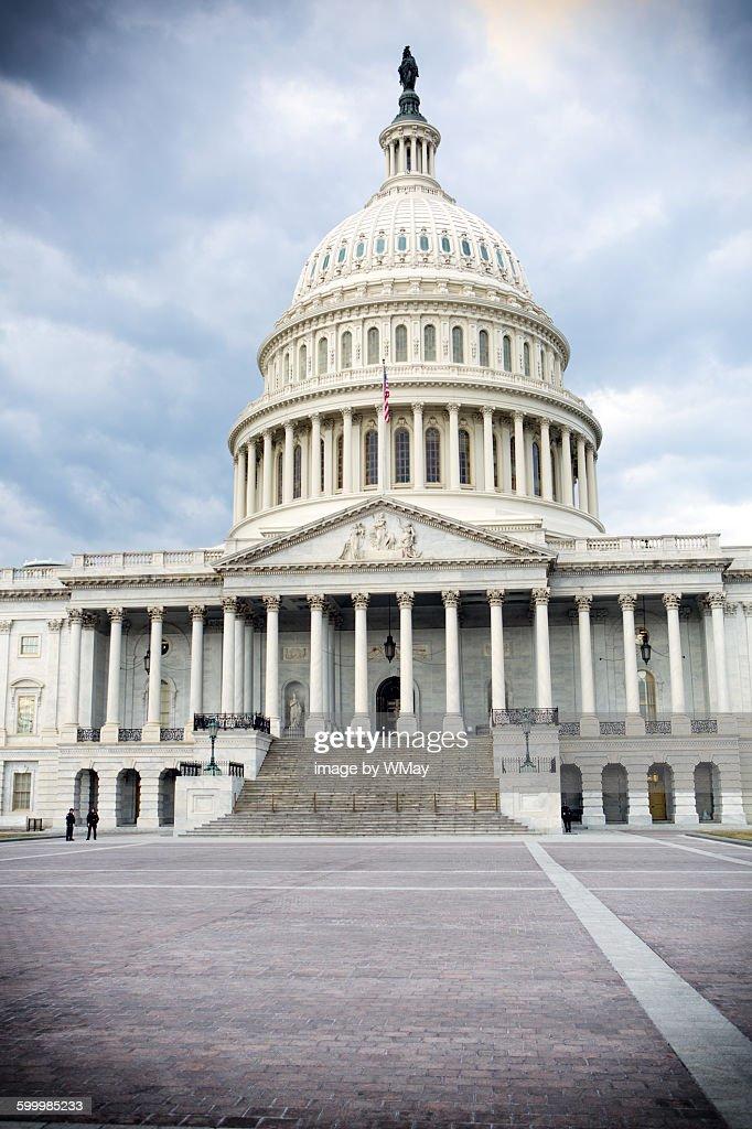 The United States capital : Stock Photo
