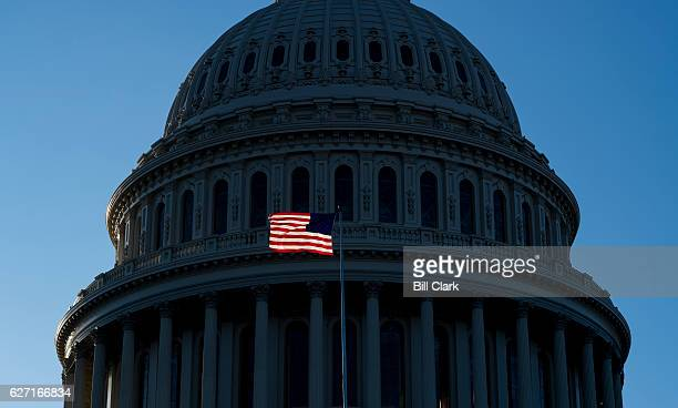 The United States Capitol building in Washington DC on December 1 2016