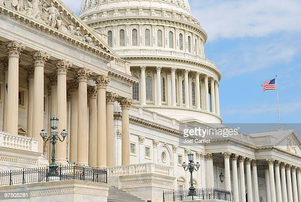 u.s. capitol columns - neo classical stock pictures, royalty-free photos & images