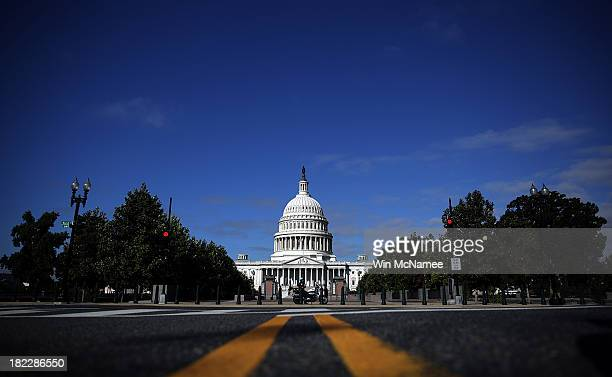 The United States Capitol building is seen as Congress remains gridlocked over legislation to continue funding the federal government September 29,...