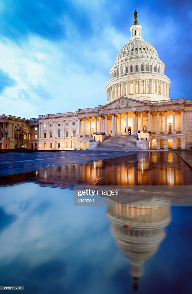 The United States Capitol Building : Stock Photo