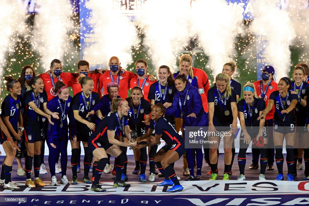2021 SheBelieves Cup - United States v Argentina : News Photo