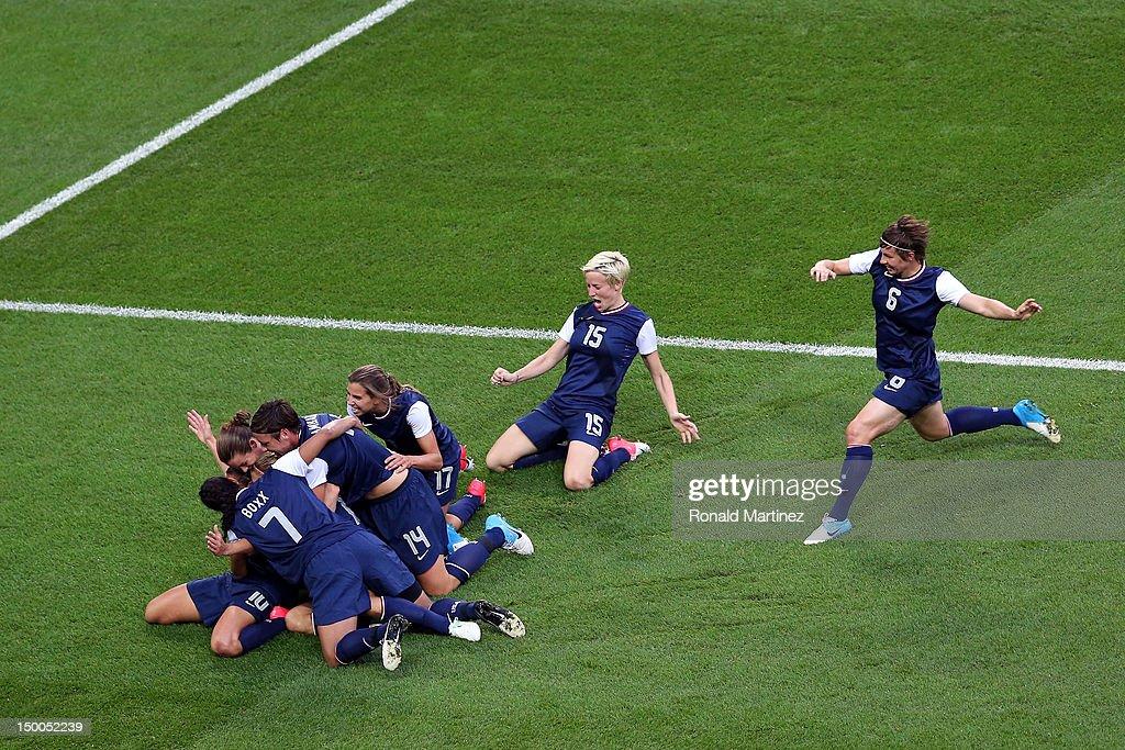 Olympics Day 13 - Women's Football Final - Match 26 - USA v Japan