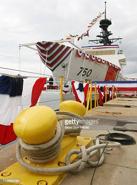 The United States Coast Guard Cutter Bertholf is shown on Saturday November 11 at the Northrop Grumman Ship Systems in Pascagoula Mississippi on the...