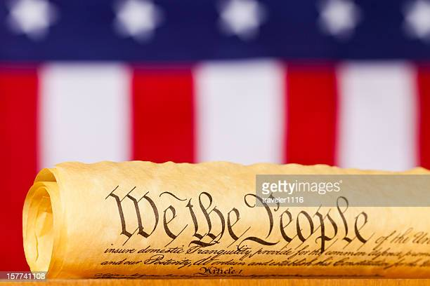 the united states constitution - constitution stock pictures, royalty-free photos & images