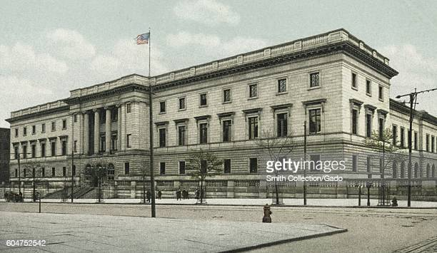 The United States Mint in Philadelphia Pennsylvania 1914 From the New York Public Library