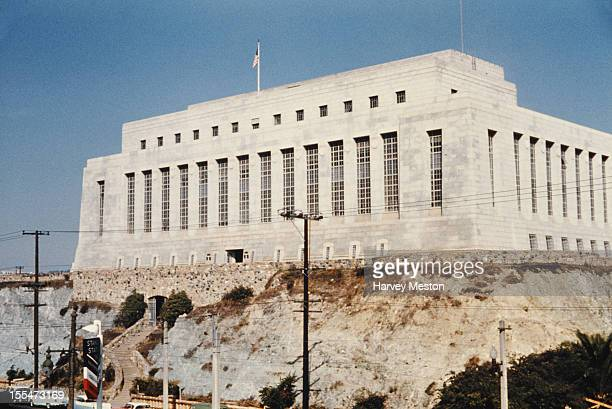 The United States Mint in San Francisco California circa 1960 It was opened in 1937