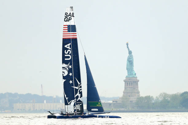NY: SailGP New York - United States Boat Preview