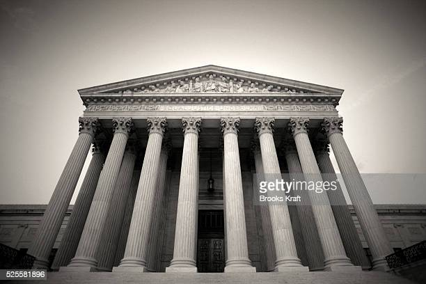 The United States Supreme Court building is shown on June 15 in Washington DC