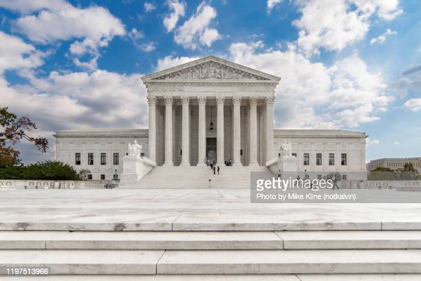 the united states supreme court - supreme court stock pictures, royalty-free photos & images