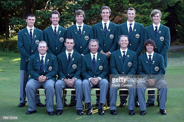 The United States team Colt Knost, Billy Horschel, Buddy Marucci , Trip Kuehne, Rickie Fowler, Kyle Stanley, Jonathan Moore, Chris Kirk, Jamie...