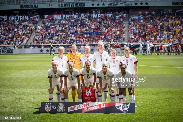 The United States Women's National Team starting line up for the International Friendly match the US Women's National Team and Mexico as part of the...