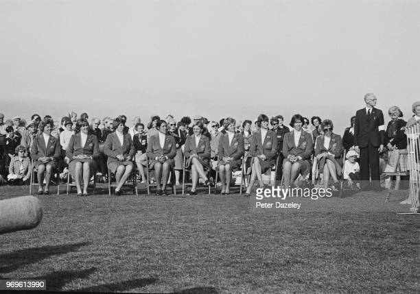 The United States won the 19th International Match for the Curtis Cup 11 ½ to 6 ½ at Royal Lytham and St Annes Golf Club St Annes On Sea Lancashire...