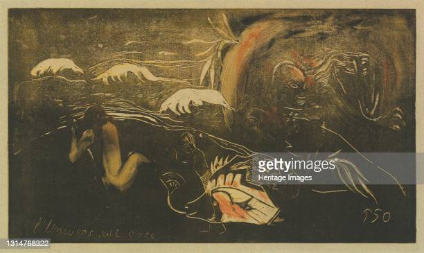 The Universe is Created , c. 1894. Artist Paul Gauguin.