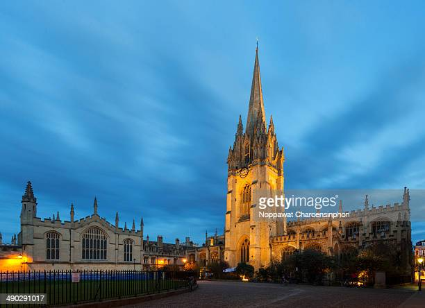 CONTENT] The University Church of St Mary the Virgin or St Mary's church and All soul College Oxford United Kingdom
