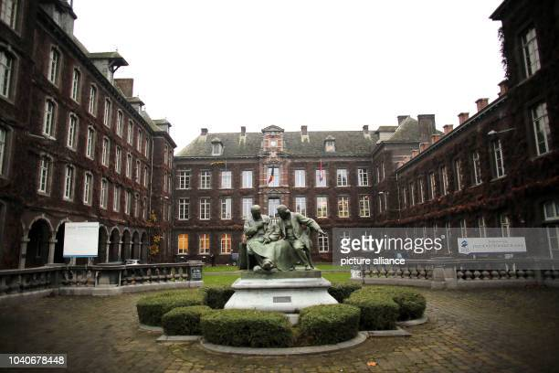 The university in Mons Belgium 02 December 2014 The Belgian city in the region of Wallonia is the 2015 European Capital of Culture Photo...