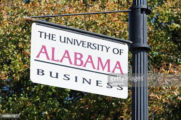 アラバマ大学ビジネスのサイン - タスカルーサ ストックフォトと画像