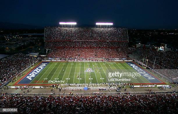 The University of Arizona Wildcats take on the UCLA Bruins on November 5, 2005 at Arizona Stadium in Tuscon, Arizona.
