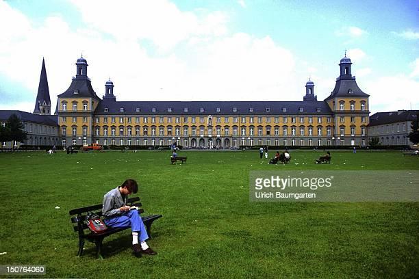 The University of Bonn with yard