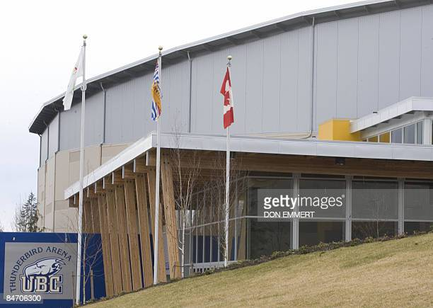 The University of British Columbia Thunderbird Arena in this photo taken February 8, 2009 in Vancouver, British Columbia. Thunderbird Arena will be...