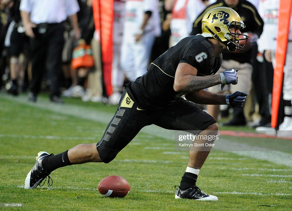 The University Of Colorado Buffaloes Football Team Takes On The