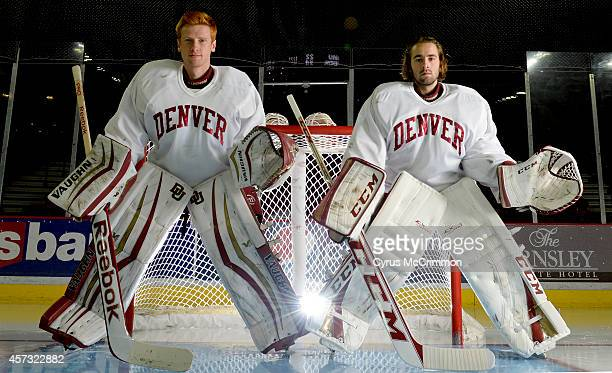 The University of Denver hockey team opens their season on Friday October 17th They will begin the season with two starting goalies sophomore Evan...