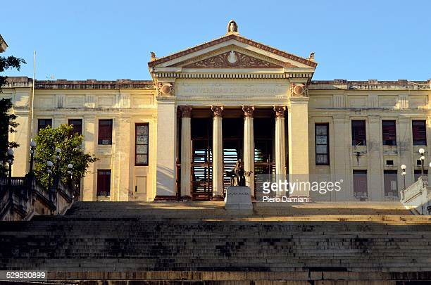 the university of havana - university of the west indies stock photos and pictures