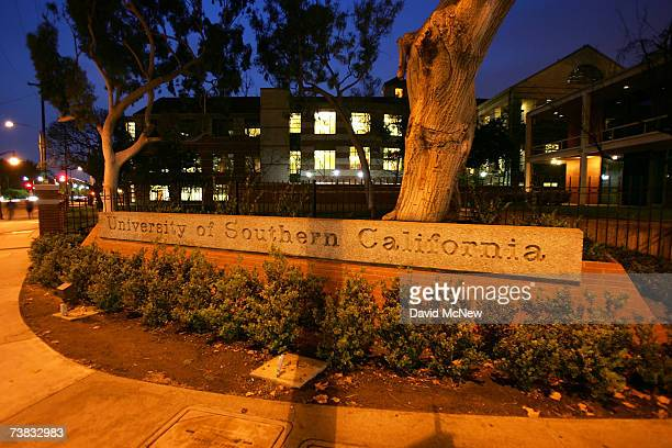 The University of Southern California campus is seen on March 6 2007 in Los Angeles California A growing investigation by New York State Attorney...