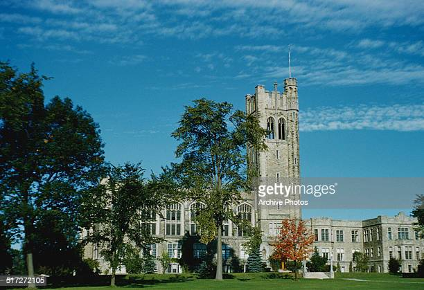 The University of Western Ontario in London Ontario Canada circa 1960