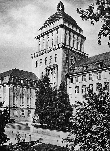 The University of Zurich, seen from the south-west,...
