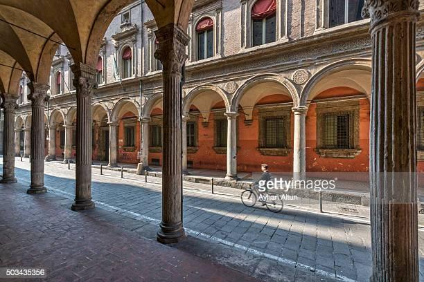 The university quarter, Bologna, Emilia-Romagna, Italy