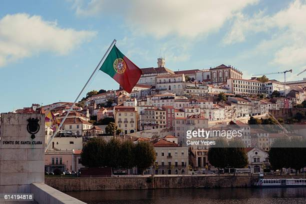 The university town of Coimbra, Portugal, Europe