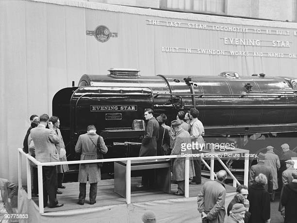 The unveiling ceremony of �Evening Star�, class 9F 2-10-0 locomotive number 92220, in 1960. Evening Star was the last main line steam locomotive to...