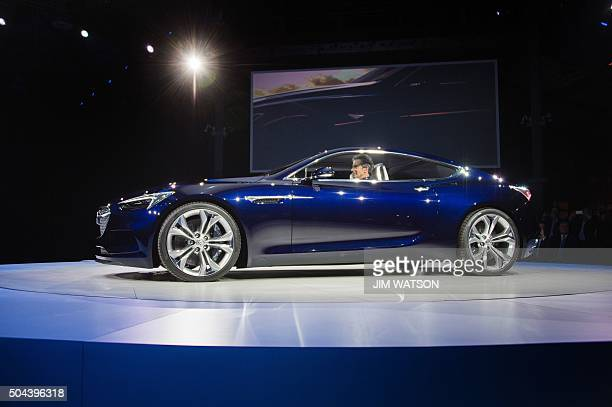 The unveiling of the Buick Avista concept coupe ahead of the North American International Auto Show in Detroit Michigan January 10 described as a...