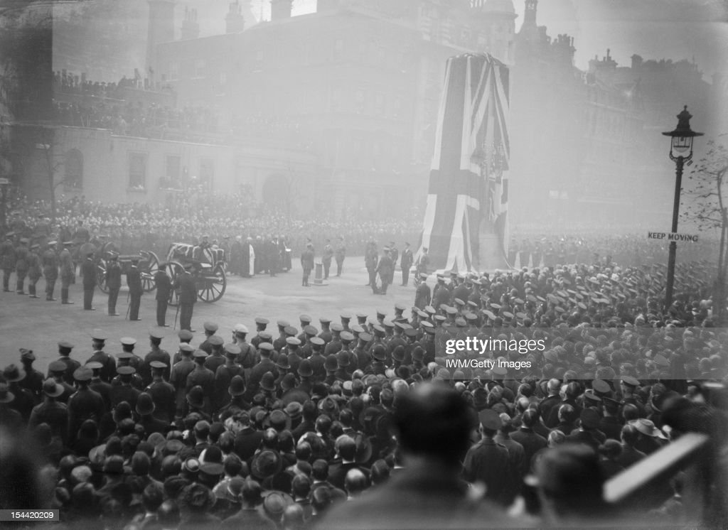 The Unveiling Of The Cenotaph, London, 1920 : News Photo