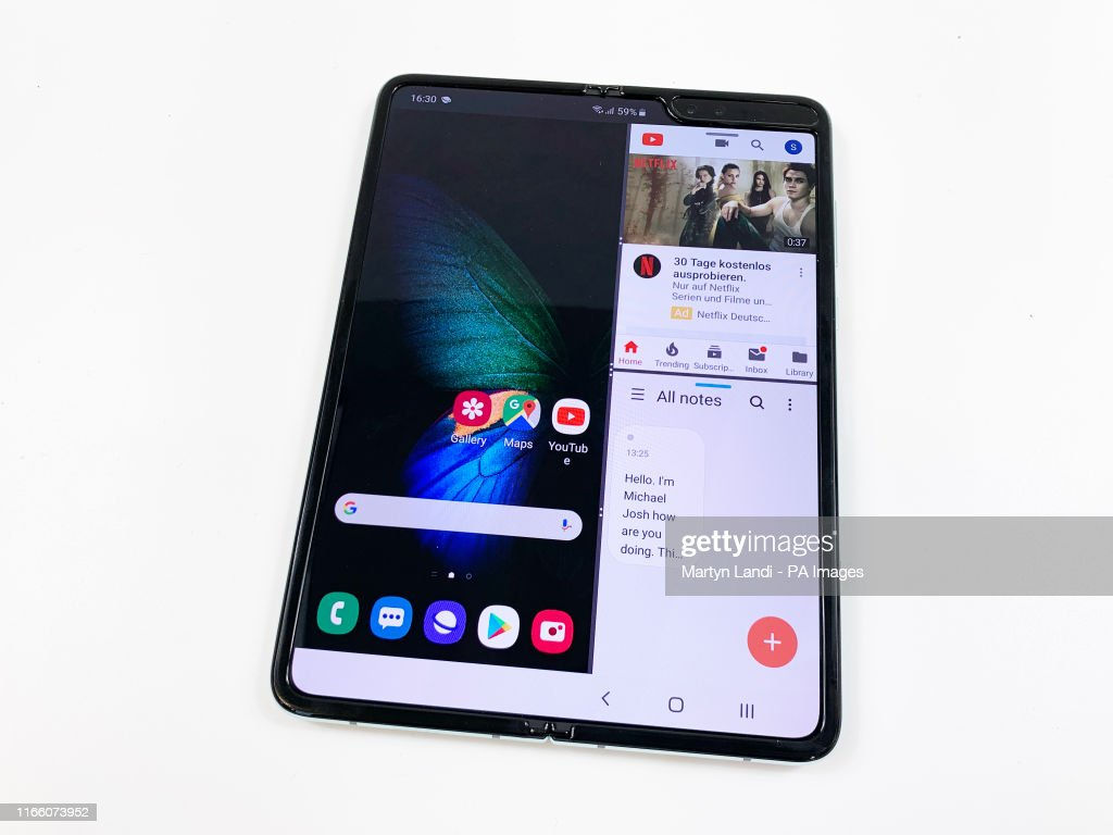 Delayed Samsung Galaxy Fold release date : News Photo