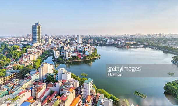 都市開発の首都ハノイ,ベトナム - ハノイ ストックフォトと画像