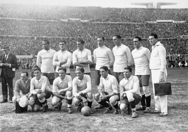 Image result for uniforme uruguay 1930