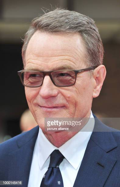The US American actor Bryan Cranston arrives at the ceremony of the CineMerit Award at the Film festival Munich Germany 23 June 2017 Personalities of...