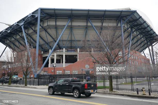The US Army Corps is planning to build a temporary hospital to cope with coronavirus cases at the Arthur Ashe Stadium at the USTA Billie Jean King...