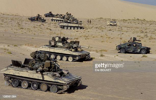 The US Army in Dhahran Saudi Arabia on September 05th 1990