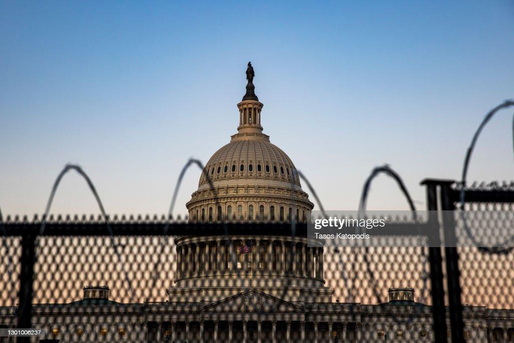 Congress Prepares For Second Impeachment Trial Of Donald J. Trump : News Photo