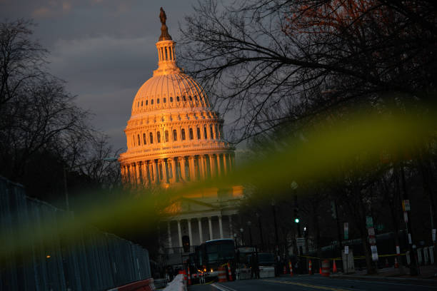 DC: Washington Made A Fortress For Inauguration After Capitol Riot