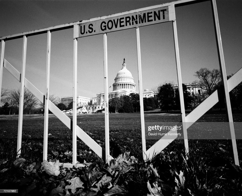 U.S. Capitol Behind Bars : News Photo
