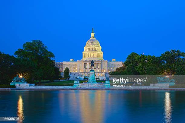 the us capitol building in washington dc - national landmark stock pictures, royalty-free photos & images