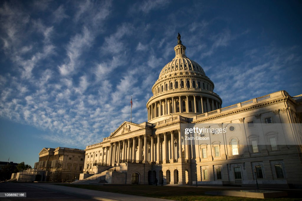 Democrats Take Control Of House, And Republicans Keep Majority In Senate In Midterm Elections : News Photo