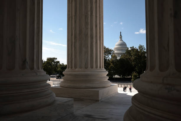 DC: House Continues Work On Capitol Hill