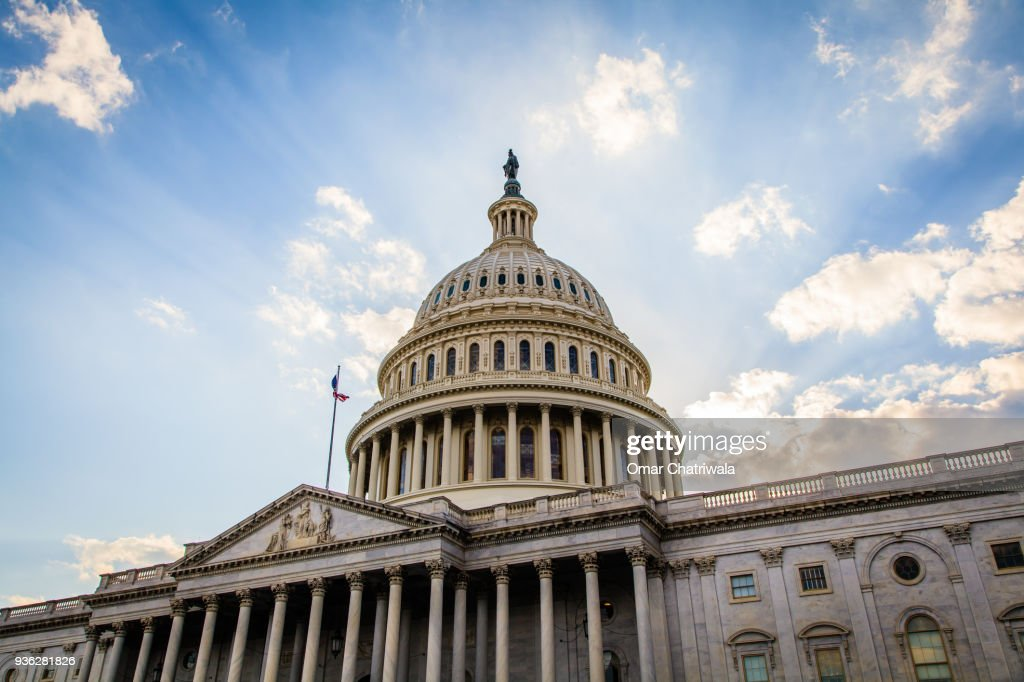 The US Capitol Building : Stock Photo