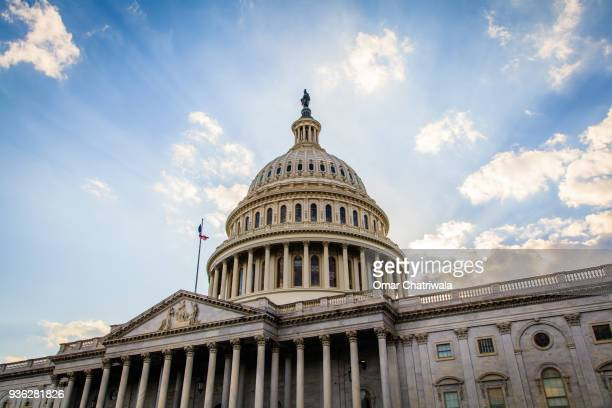 the us capitol building - congress stock pictures, royalty-free photos & images