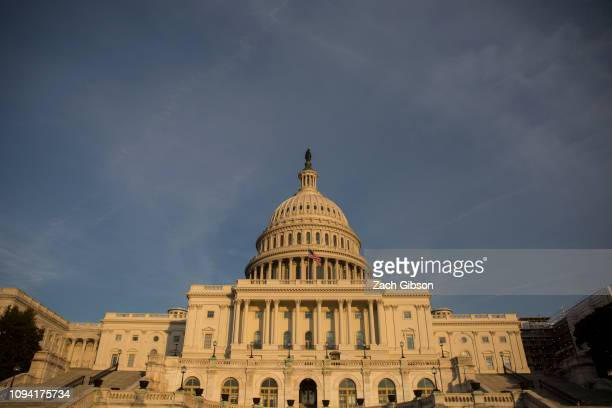 The U.S. Capitol Building seen on February 5, 2019 in Washington, DC. President Trump delivers his State of the Union address tonight in Washington,...